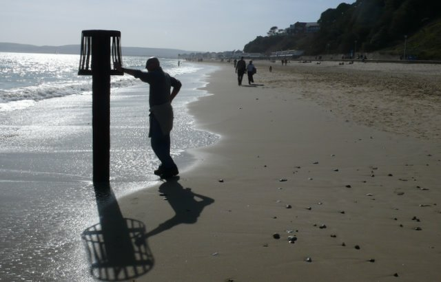 Beach marker- Time for a rest