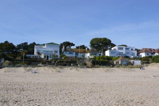 Houses, Sandbanks