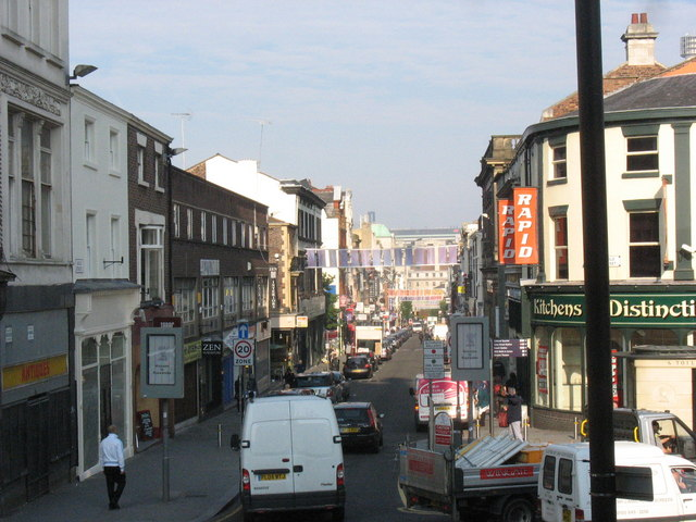 The top of Bold Street