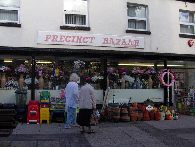 Bazaar hardware on the pavement, St Marychurch Precinct
