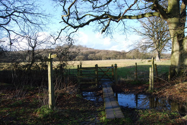 Stile at the edge of Binswood