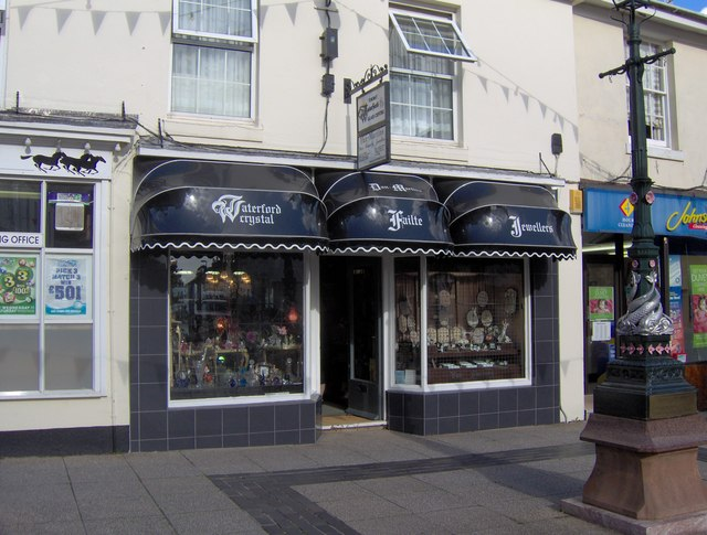 Jewellery and glass shop, St Marychurch Precinct
