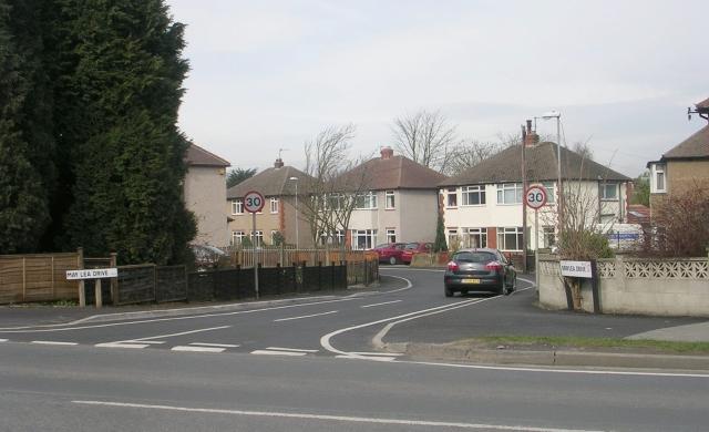 Maylea Drive - Bradford Road