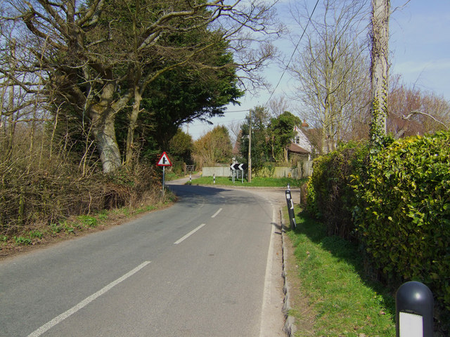 View towards Dark Lane on the B3046
