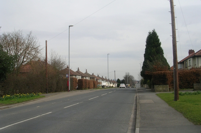 Bradford Road - viewed from West Buck Lane