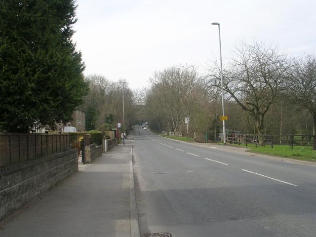 Bradford Road - viewed from West Buck Lane