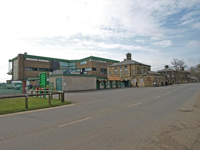 Racecourse Buildings, Gosforth Park