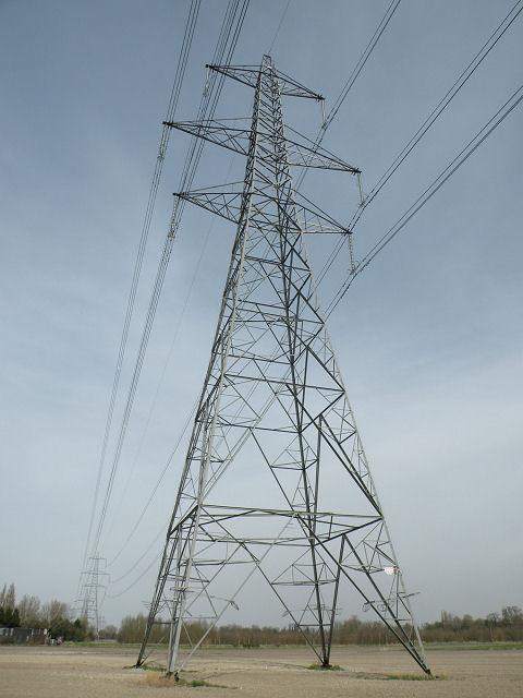 Portrait of a pylon