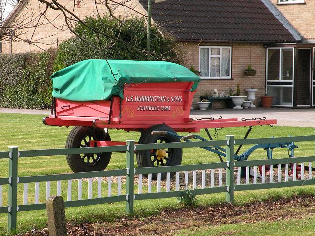 Farm Cart Feature at Southfield Farm