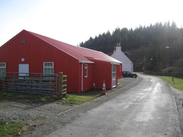 Public Hall at Yarrowford