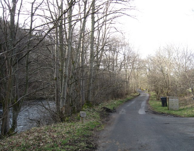 Road to Fastheugh Farm and the Stiel