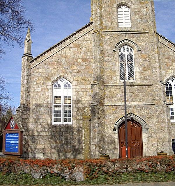 Entrance to Banchory St Ternan's East church