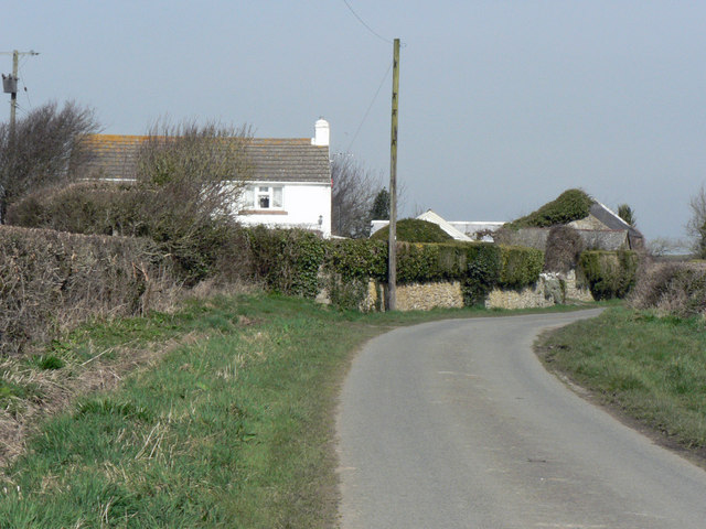 Approaching 'The Larks', Marcross.