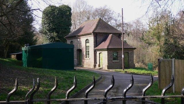 Building at Easebourne
