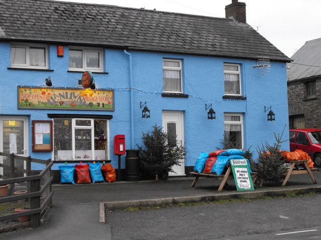 Siop y Pentre Llanllwni Village Store