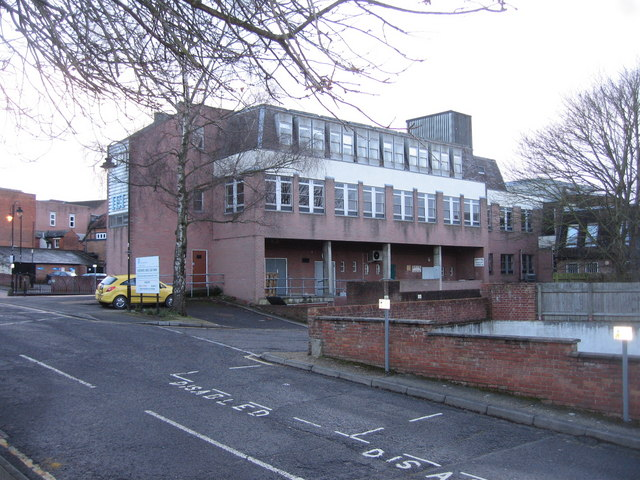 Town centre office block