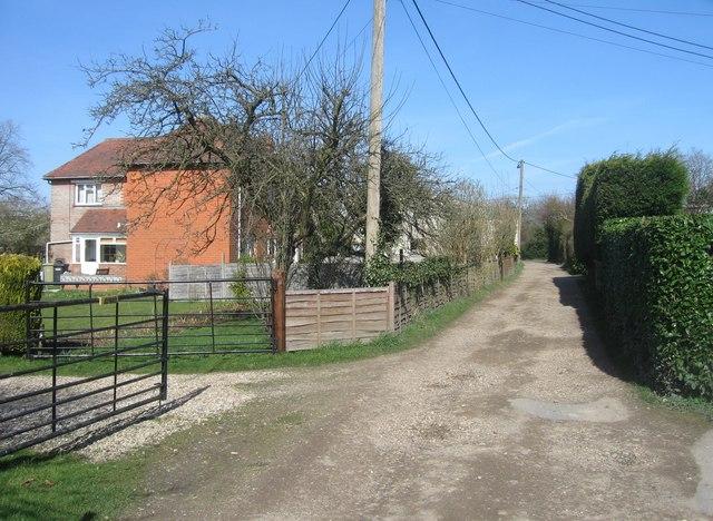 Footpath & track