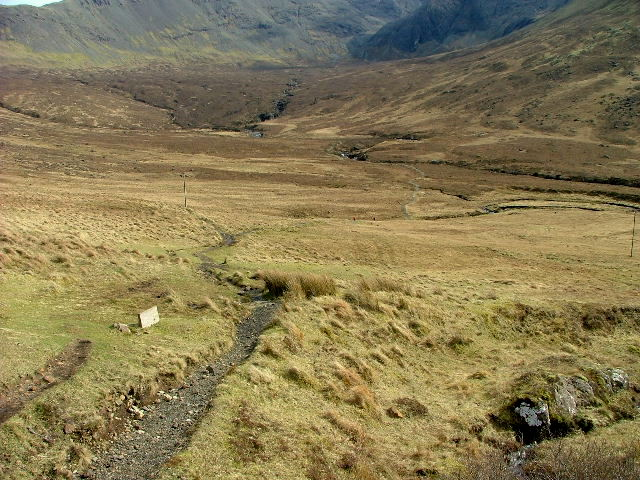 Start of the path to Sligachan