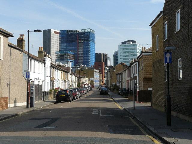 Street Scene, Laud Street, Croydon