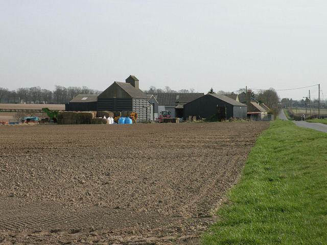 Lower Portland Farm, spring 2009