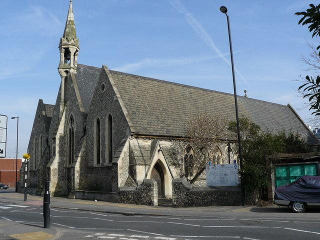 St.Andrew's Church, Southbridge Road, Croydon