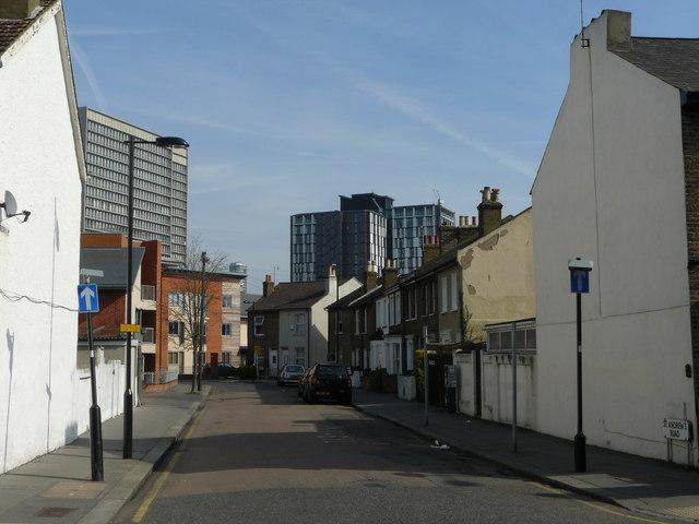 Street Scene, St.Andrew's Road, Croydon