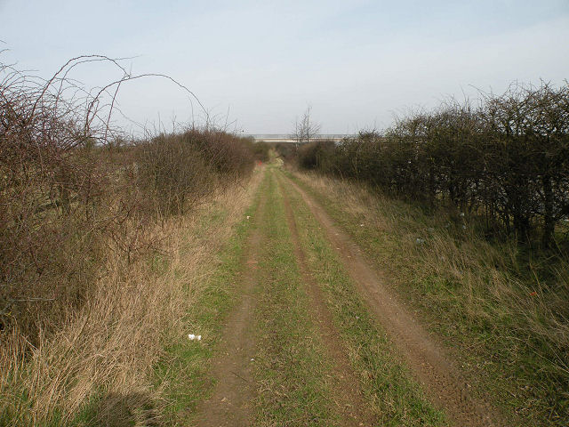 Byway beside the A14