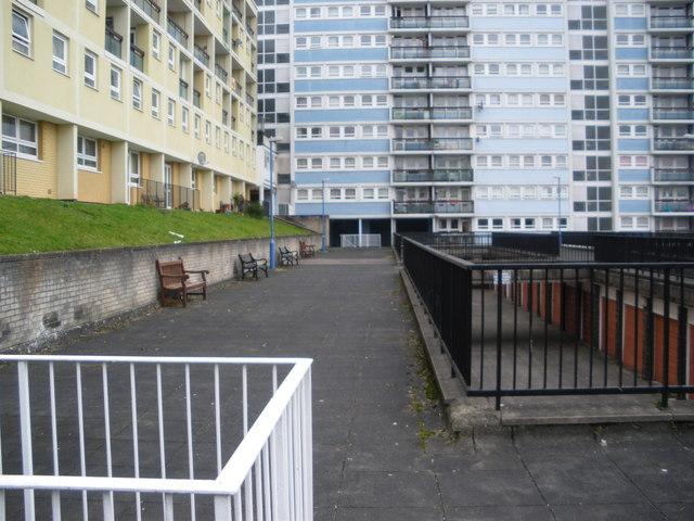 Carolina House flats, Kingsdown, Bristol