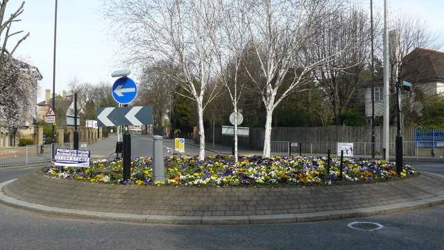 Roundabout in Croydon