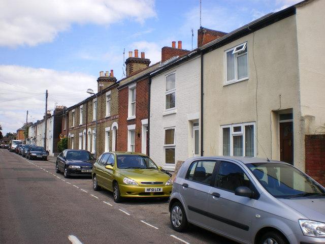 Victorian housing, Methuen Street, Southampton