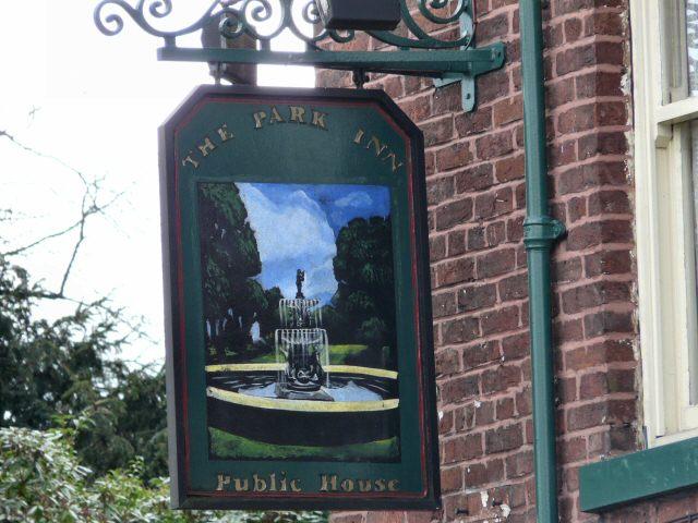 Park Inn Sign