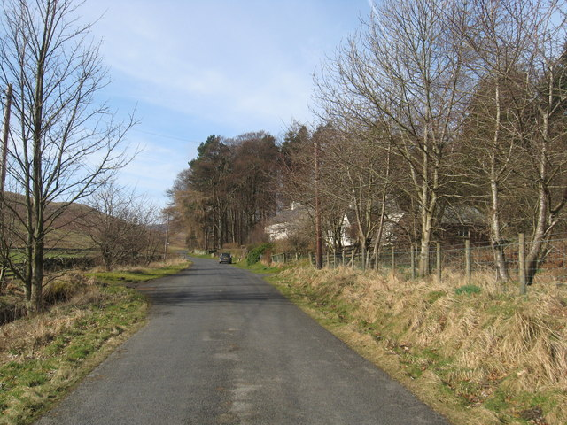 The minor road at Henderland