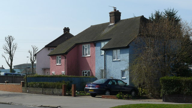 Houses in Goodwin Road