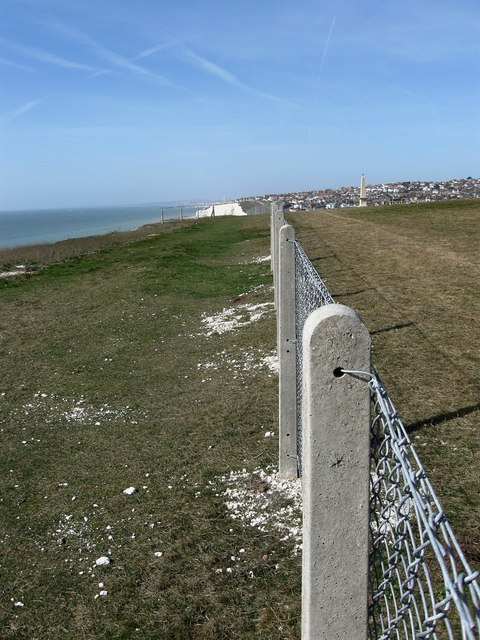 New Fence along the Cliff