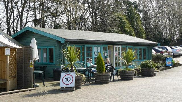 Café at Wyevale Garden Centre, Purley Way