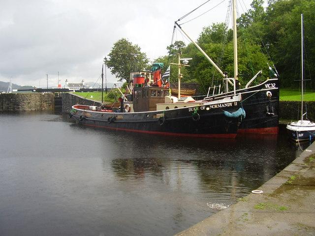 Crinan canal basin