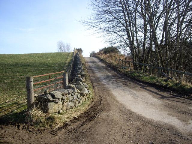 Lane to Denhead
