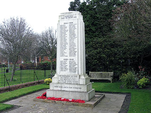 War Memorial, Hadley