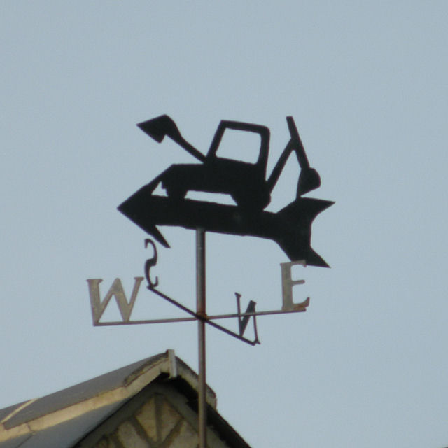 Weather vane on The Granary