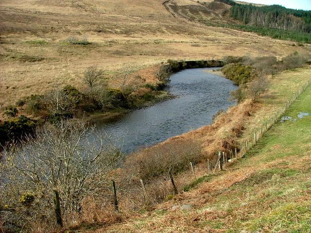 River Brittle at Bualintur