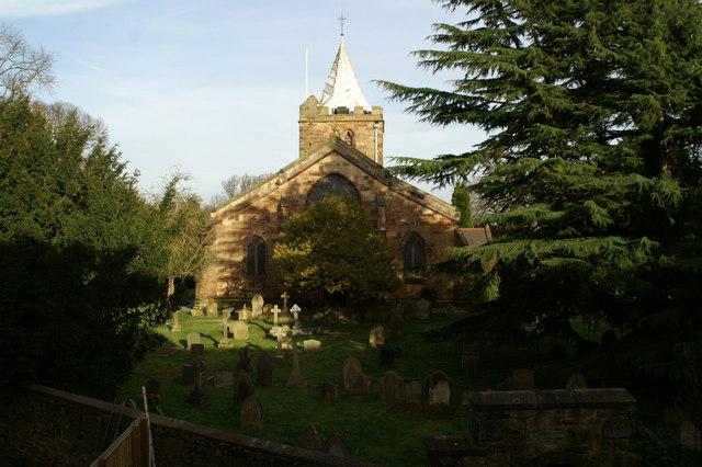 West end, St Deiniol's Church