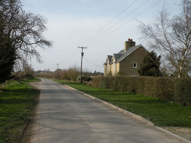 Cottages on Heath Road, Swaffham Prior