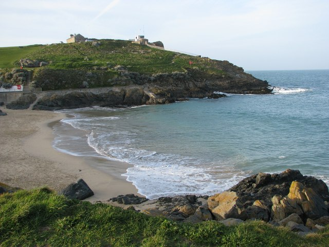 St Ives Head over Porthgwidden Beach