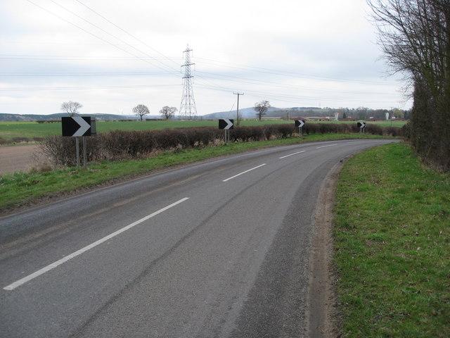 Rufford Lane - Sharp Bend