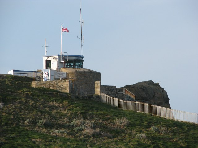 Coastal Lookout on St Ives Head