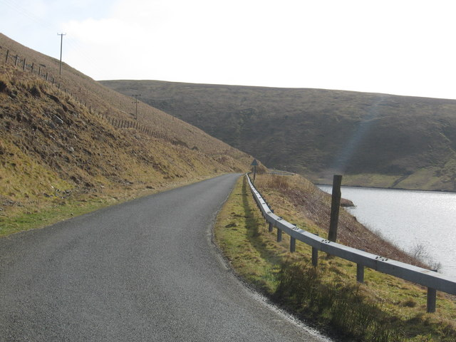 Curving road near Cramalt