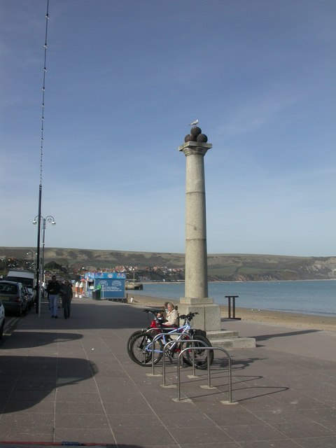 Swanage, King Alfred's Memorial