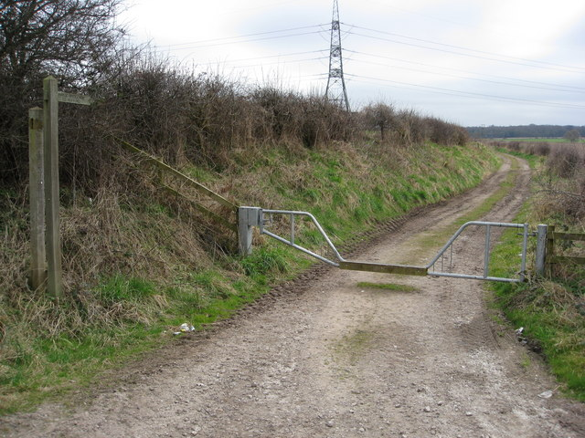 Footpath off the A614 Old Rufford Road