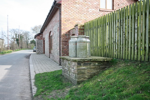 Reconstructed Milk Stand at Sower Carr