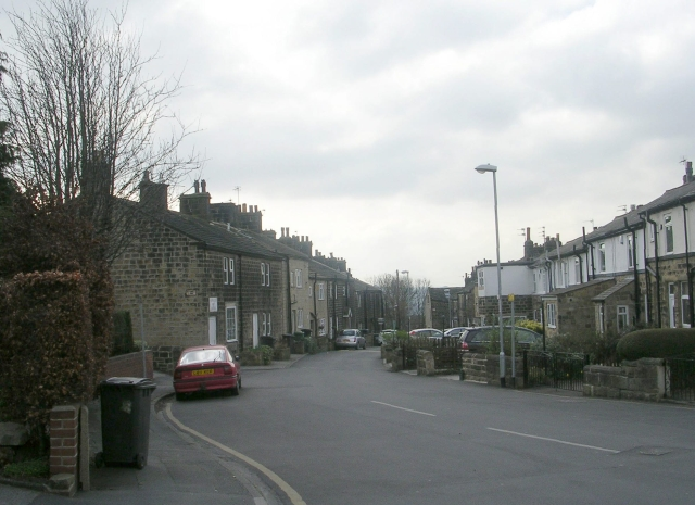 Back Lane - viewed from Stoney Rise
